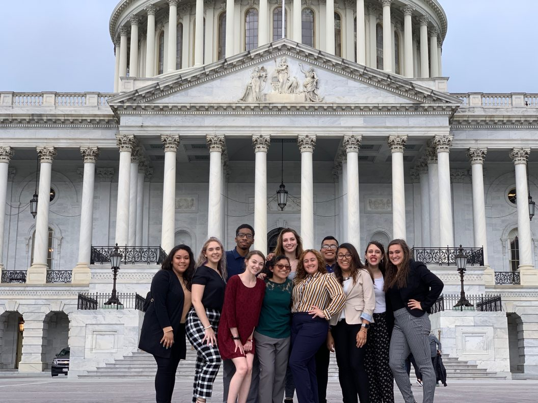 Students lobby for foreign aid